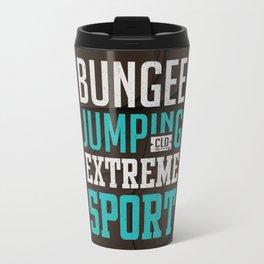 Bungee Jumping Extreme Sport Travel Mug