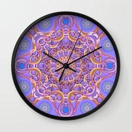 Royal Seal Mandala Wall Clock