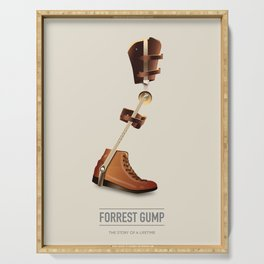 Forrest Gump - Alternative Movie Poster Serving Tray