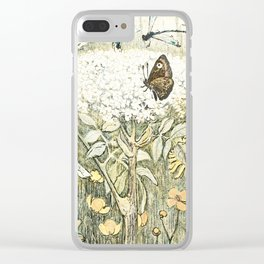 Eco warrior Clear iPhone Case
