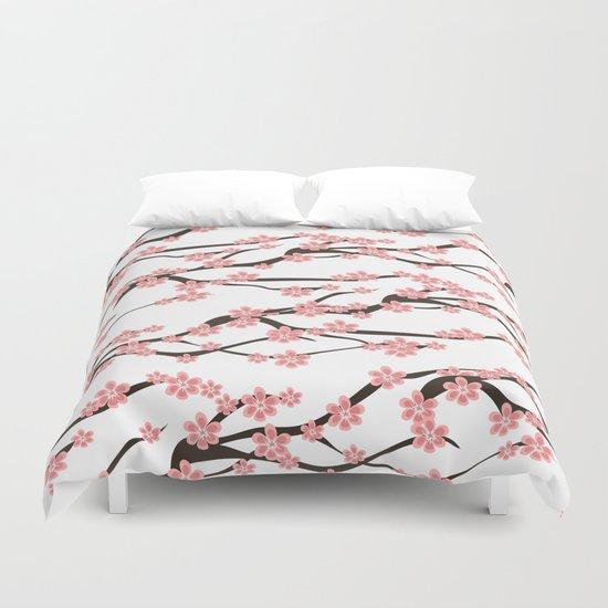 Sakura pattern Duvet Cover