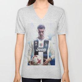 Cristiano Ronaldo To Juventus Unisex V-Neck
