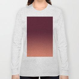 Gradation, Monochrome, Color Mood Long Sleeve T-shirt