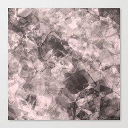 crystal pink Canvas Print