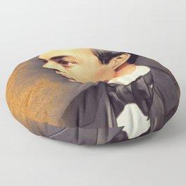 Sergei Rachmaninoff, Music Legend Floor Pillow