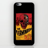 terminator iPhone & iPod Skins featuring The Terminator by Vaughany