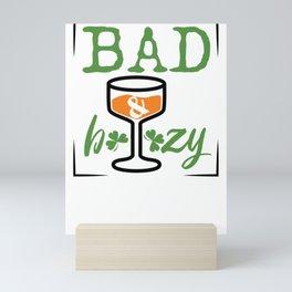 St. Patrick's Day Bad and Boozy Mini Art Print