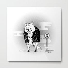 Big Bad Wolf Metal Print