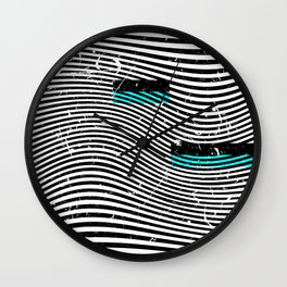 Striposcopy Wall Clock