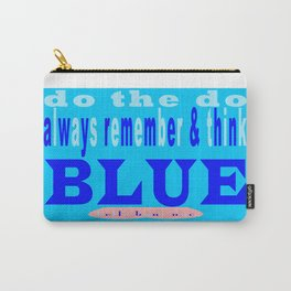 """bbnyc: """"conserve, recycle, reuse"""" water Carry-All Pouch"""