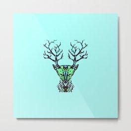 Blue Deer Songs  Metal Print
