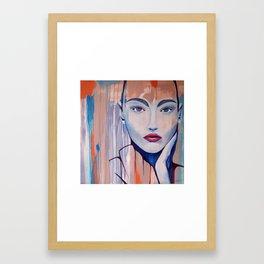 """Blue Lady"" Framed Art Print"