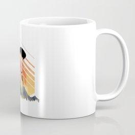 Vintage TEE Sun Sunset Clothing Parachute Coffee Mug