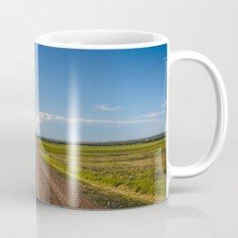 Summer Roads, Glasgow, Montana Coffee Mug