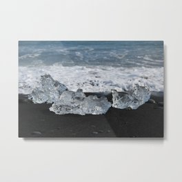 Beached ice Metal Print