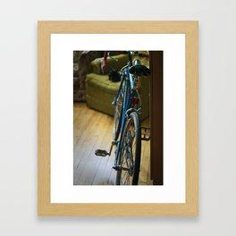 Bike Minneapolis Framed Art Print