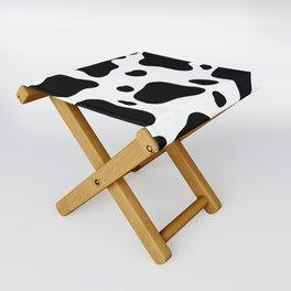Cow Hide Folding Stool