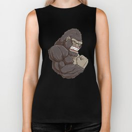 Gorilla At The Gym | Fitness Training Muscles Biker Tank