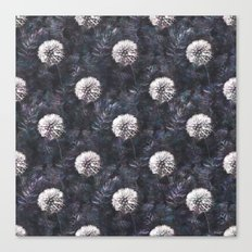 Dandelions - A Pattern Canvas Print