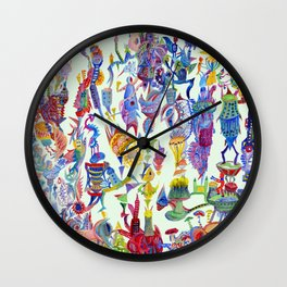 stand up Wall Clock