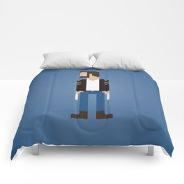 The Man With Metal Claws Comforters