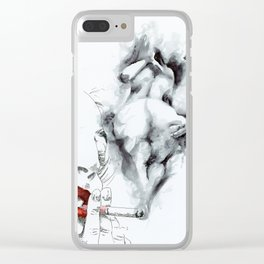 NUDEGRAFIA - 55 smoke Clear iPhone Case