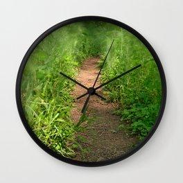 Windy Goose Creek Trail Wall Clock