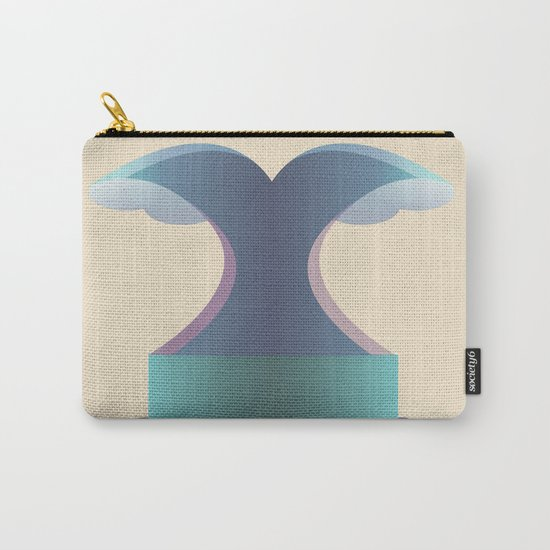 I wave letter Carry-All Pouch