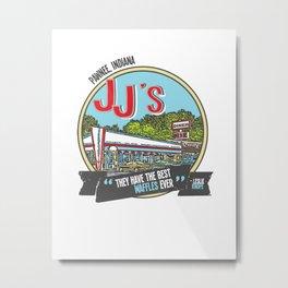 jj's diner, pawnee, indiana Metal Print