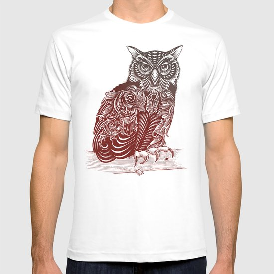 Most Ornate Owl T-shirt