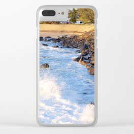 Duranbah Beach Clear iPhone Case