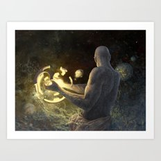 Forge of Worlds Art Print