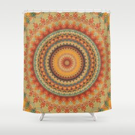 Mandala 393 Shower Curtain