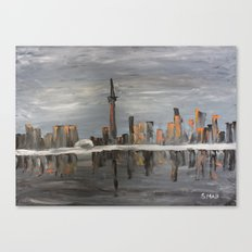 T-Dot Canvas Print