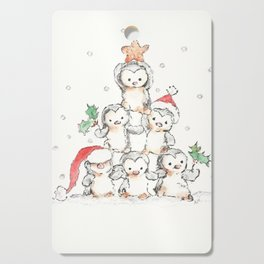 Oh Penguin Tree Cutting Board