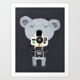 koala cam Art Print