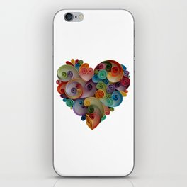 Happy Heart iPhone Skin