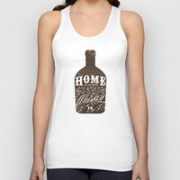whiskey Tank Tops featuring Whiskey by irosebot