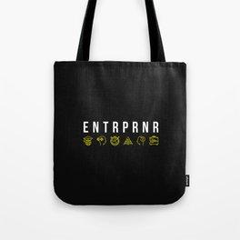 ENTRPRNR - Entrepreneur with Icons Tote Bag