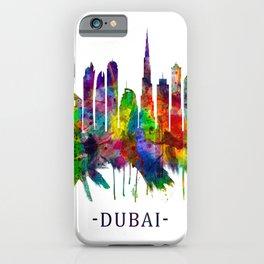 Dubai United Arab Emirates Skyline iPhone Case
