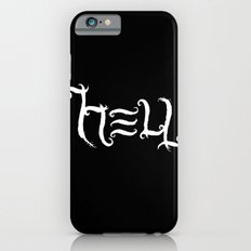 Raise HELL (Black) Slim Case iPhone 6s
