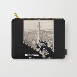 Washington Monument, Baltimore Carry-All Pouch