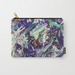 Feathered Honesty Carry-All Pouch