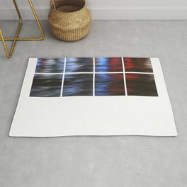 Citylights: Hong Kong Harbour #8 -Right Down - 8 Pieces Rug
