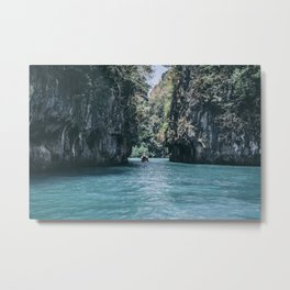 The Secret Lagoon Metal Print