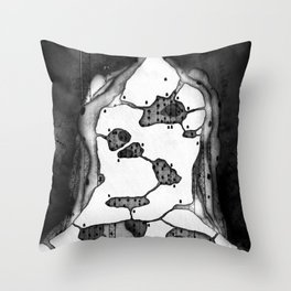 City of Earth Throw Pillow