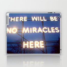 Neon - There Will Be No Miracles Here Laptop & iPad Skin
