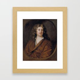 Portrait of a Youth , Mary Beale, 1680 Framed Art Print