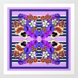 digital petals Art Print