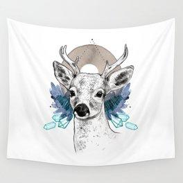 The Deer (Spirit Animal) Wall Tapestry